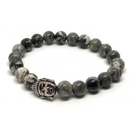 Bracelet septaria calcite