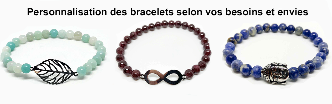 Bracelet personnalisé sur commande
